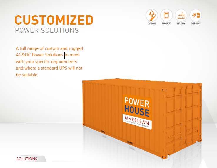 Customised Power Solutions