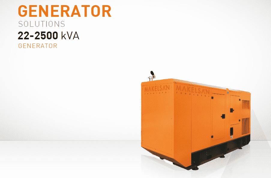 Makelsan Diesel Generator Models