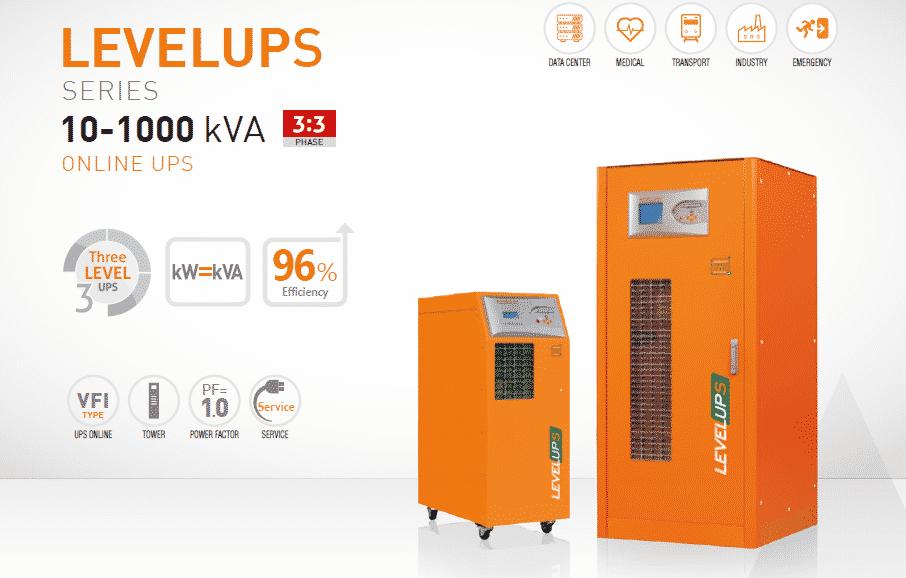 3 Phase UPS Models Levelups UPS