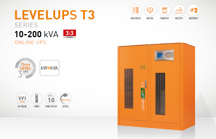 3 Phase UPS Models Levelups T3 Models