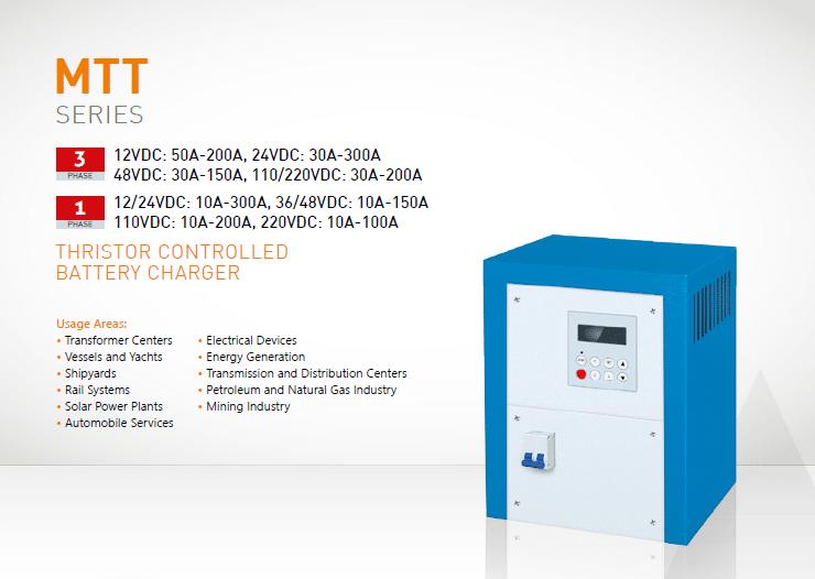 MTT Series Battery Charger