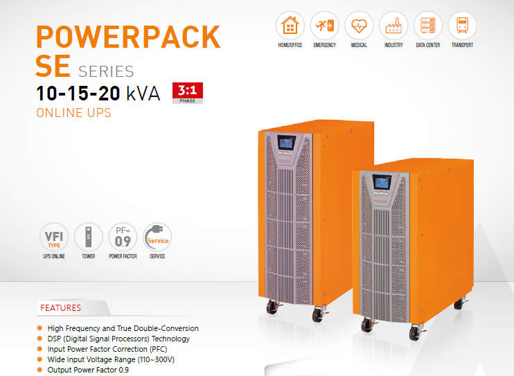 Online UPS Makelsan Powerpack