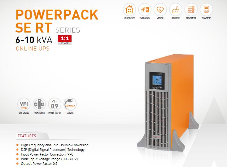 Online UPS Makelsan Powerpack SE 6-10kVA RT