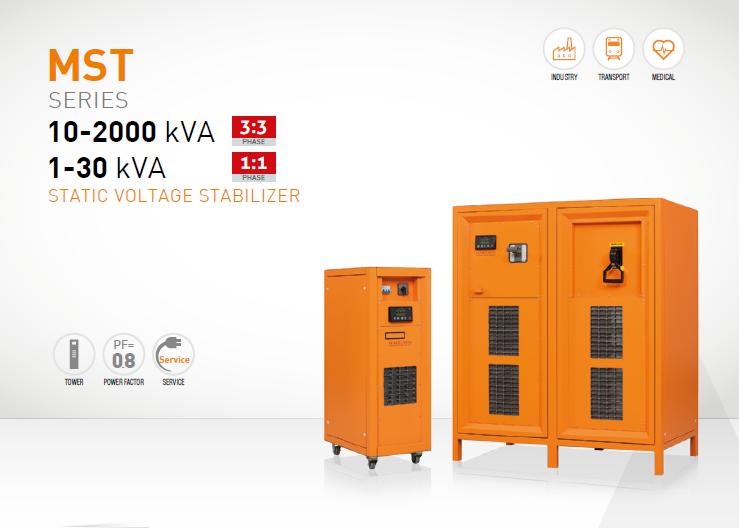 Voltage Regulator Stabiliser Servo Controlled