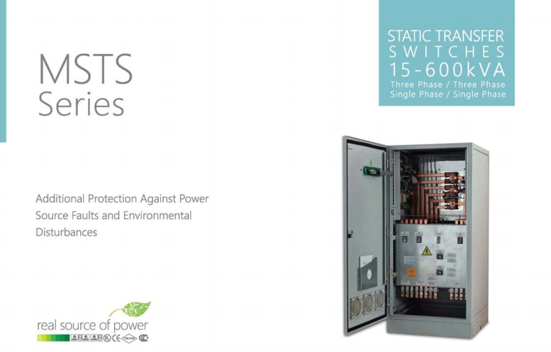 Static Transfer Switch STS