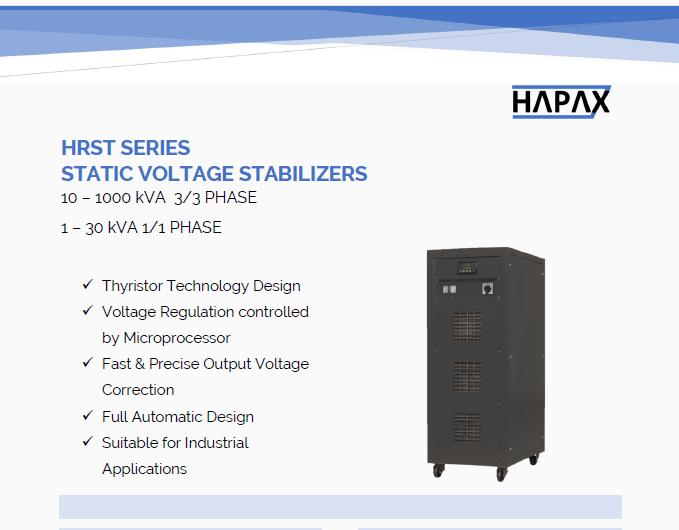 Hapax Static Stabilizer